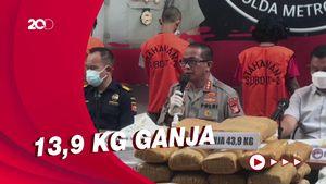 Polda Metro Ungkap Jaringan Narkoba yang Dikendalikan dari LP di Jabar