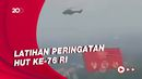 Helikopter TNI AU Latihan Terbang Bawa Bendera Raksasa, Buat 17 Agustus?