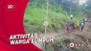Tanah Longsor Putus Akses Penghubung 2 Kecamatan di Polewali Mandar!
