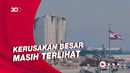 Pemandangan Pagi di Kota Beirut Setahun Usai Ledakan Dahsyat
