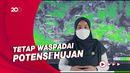 Prakiraan Cuaca Umum di Indonesia: Cerah-Berawan