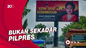 Hensat Nilai Baliho Puan Bisa Soal Suksesi Ketum PDIP