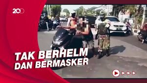 Viral Pria Ngamuk-Rusak Banner PPKM di Sidoarjo, Ternyata ODGJ