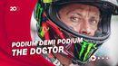 Ekspresi Rossi Saksikan Momen Spesial Sepanjang Karier di MotoGP