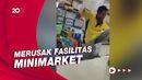 Geger Pria Ngamuk di Minimarket Tangsel Minta Rp 10 Juta