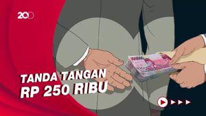 Lurah di Ciledug Pungli Rp 250 Ribu saat Warga Minta Tanda Tangan