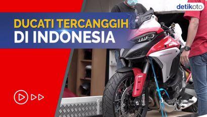Melihat Unboxing Moge Ducati Multistrada V4S, Pertama di Indonesia!