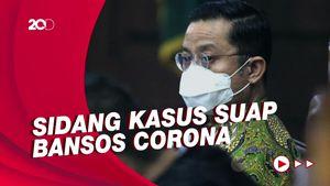 Baca Pleidoi, Juliari Batubara Minta Maaf ke Jokowi & Megawati