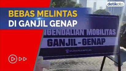 Catat! Ini Kendaraan yang Kebal Ganjil Genap di DKI Jakarta