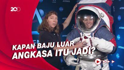 Baju Astronaut Belum Jadi, Misi NASA ke Bulan Terancam Ditunda