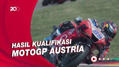 Jorge Martin Start Terdepan di MotoGP Austria, Quartararo Kedua