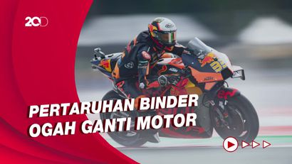 Terjang Hujan Pakai Ban Kering, Brad Binder Juara MotoGP Austria