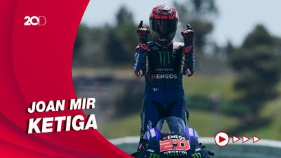 Klasemen MotoGP 2021: Quartararo Tak Goyah di Puncak, Bagnaia Kedua
