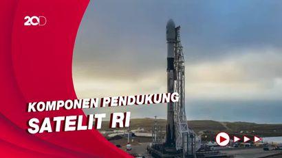 Ada SpaceX Milik Elon Musk di Balik Proyek Satelit SATRIA