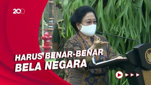 Megawati Singgung Politikus yang Hanya Mau Mejeng