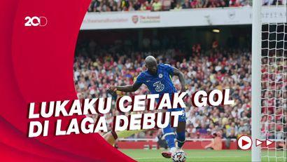 Fakta-fakta Menarik Arsenal Vs Chelsea: Lukaku Cetak Gol, Arsenal Tenggelam