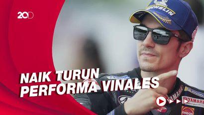 Statistik Vinales Bareng Yamaha Musim Ini: Dari Puncak Sampai Jeblok