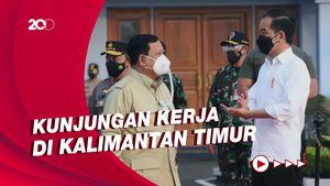 Bareng Prabowo, Jokowi Tinjau Vaksinasi Pelajar di Kaltim