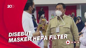 Mengenal Masker Selang Prabowo yang Curi Perhatian