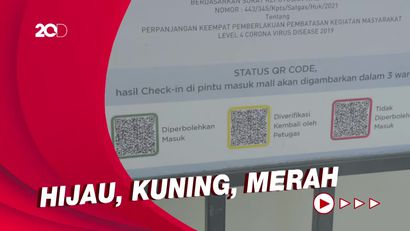 Arti 3 Warna Barcode di Aplikasi PeduliLindungi