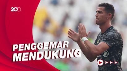 Diisukan Pindah ke Manchester City, Ronaldo Trending