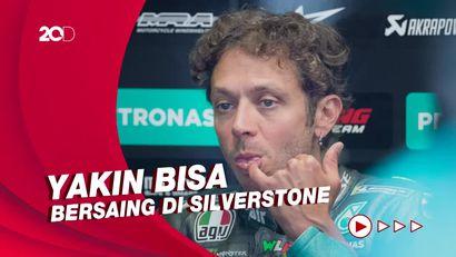 Rossi Pede Bisa Bangkit di MotoGP Inggris