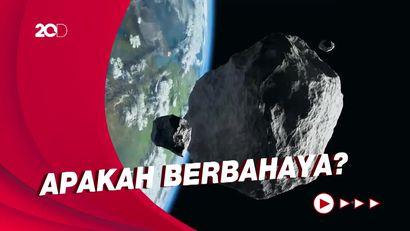 Penjelasan NASA soal Kemungkinan Asteroid Hantam Bumi di Masa Depan