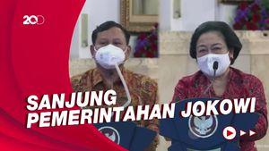 Megawati-Prabowo Kompak Nilai Penanganan Covid-19 RI Sudah Benar
