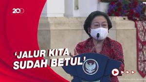 Saat Mega Nasihati Jokowi soal Pandemi: Bapak yang Tegar