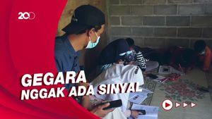 Warung Kopi di Atas Bukit Ini Sediakan Wifi Gratis Buat Pelajar