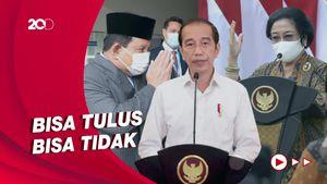 Jokowi Banjir Pujian Ketum Parpol, Pengamat Singgung Asal Bapak Senang