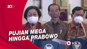 Puja-puji Ketum Parpol untuk Jokowi