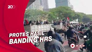 Kericuhan Demo Pendukung Habib Rizieq, Sejumlah Massa Diamankan!