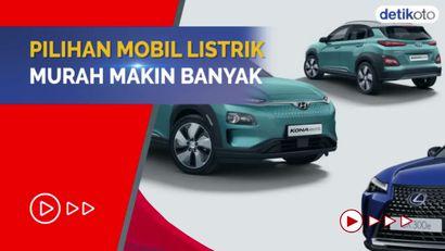 Harga Rp 600 Jutaan, Ini Tiga Mobil Listrik Termurah di Indonesia