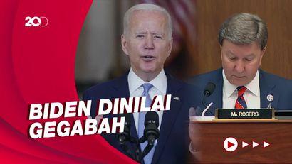 DPR AS Kritik Keras Biden Terkait Penanganan Situasi Afghanistan