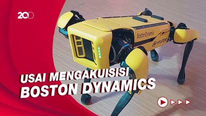 Gemas! Hyundai Pamer Robot Anjing Cerdas Barunya