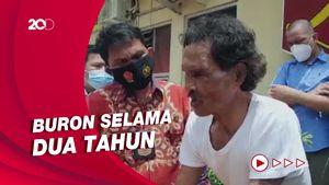 Buron Pembunuh PNS yang Mayatnya Dicor Semen di Sumsel Ditangkap!
