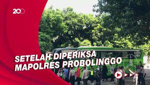 Momen 17 Tersangka Suap Bupati Probolinggo Tiba di KPK