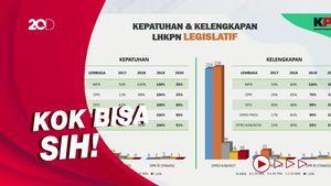 KPK Ungkap Kepatuhan LHKPN DPRD DKI Lebih Rendah dari Papua