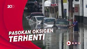 Banjir Melanda RS di Meksiko, Belasan Pasien Meninggal
