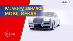 Pajaknya Mepet Rp 100 Juta per Tahun, Ini Wujud Rolls Royce Phantom