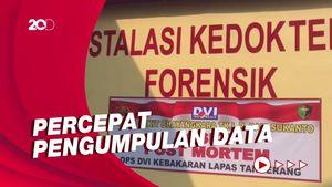 RS Polri Dirikan Posko Crisis Center Korban Kebakaran Lapas Tangerang