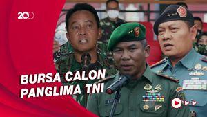 Sederet Nama Petinggi TNI di Bursa Calon Panglima
