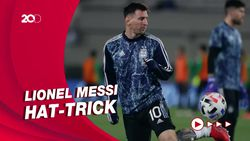 Messi Borong Tiga Gol Argentina ke Gawang Bolivia