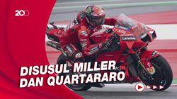Bagnaia Pole Position di Kualifikasi MotoGP Aragon