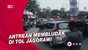 Keramaian di Rest Area KM 21, Antusias Warga Ikut Serbuan Vaksin TNI