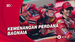 Asapi Marquez, Bagnaia Juara MotoGP Aragon