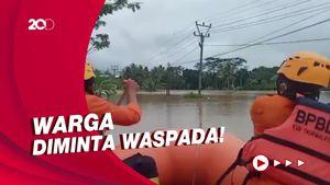 2 Hari Diguyur Hujan Deras, Tasikmalaya Dilanda Banjir-Longsor