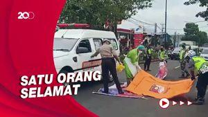 Jatuh saat Nyalip, Pemotor di Cianjur Tewas Terlindas Truk Molen