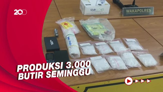 Polisi Bongkar Rumah Peracik Inex Palsu di Jakpus